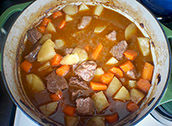 Mighty beef stew