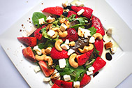 Summer Strawberry Salad